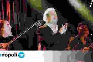 Ο Γιάννης Πάριος στο Baraonda Music Hall