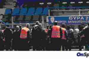 Παναιτωλικός-Ολυμπιακός: Ένταση και δακρυγόνα μετά το παιχνίδι (photos)