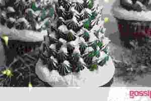 Cupcakes σαν αληθινά χριστουγεννιάτικα δέντρα