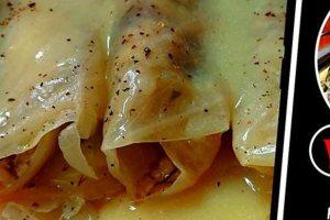 Ο Γιάννης Γαβαλάς μαγειρεύει λαχανοντολμάδες με φρέσκα μυρωδικά