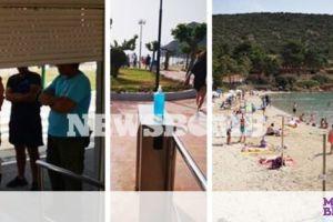 Ρεπορτάζ: Κατέβασε ρολά παραλία στο Πόρτο Ράφτη - Γέμισε με 250 άτομα