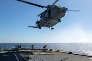 One Dead and 5 Missing After Canadian Military Helicopter Crashes off Greece