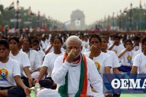 Γιόγκα κατά του κορωνοϊού προτείνει ο πρωθυπουργός της Ινδίας