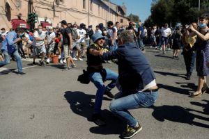 Ρώμη: Επίθεση νεοφασιστών κατά δημοσιογράφων και αστυνομικών