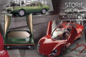 Alfa Romeo: Η ιστορία των 33 Stradale, Carabo και Montrea