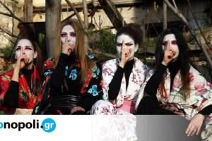 Ιστορίες Φαντασμάτων από την Ιαπωνία, από τη Θεατρική Ομάδα Κωφών Τρελά Χρώματα στο Θέατρο Κολωνού