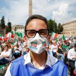 Ιταλία: Ακροδεξιοί διαδηλώνουν κατά της κυβέρνησης Κόντε