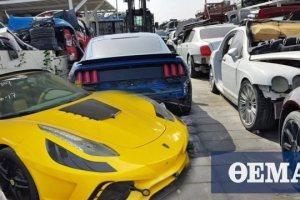 Video: Στο πλούσιο Ντουμπάι διαλύουν πανάκριβα αυτοκίνητα