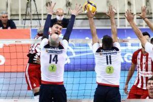 Volley League ανδρών: Φοίνικας - Ολυμπιακός με φόντο την πρόκριση στον τελικό