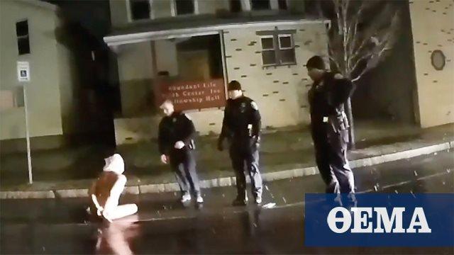 Αστυνομική βία στις ΗΠΑ: Συνέλαβαν 41χρονο, του έβαλαν σακούλα στο κεφάλι και πέθανε - Δείτε βίντεο-σοκ