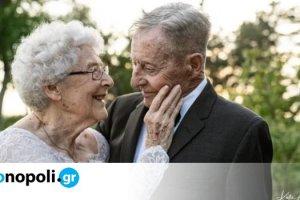 Ζευγάρι γιορτάζει την 60ή επέτειο γάμου του, με μια...ιδιαίτερη φωτογράφιση