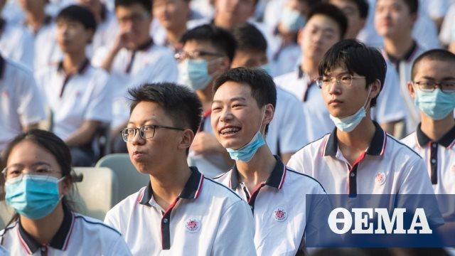 Κορωνοϊός - Κίνα: Επέστρεψαν στα θρανία οι μαθητές στην πολύπαθη Ουχάν μετά από επτά μήνες
