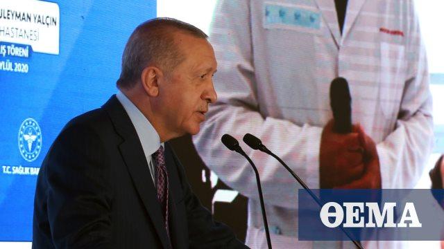 Νέες πολεμικές απειλές Ερντογάν: Αν δεν το καταλάβουν πολιτικά, θα το βιώσουν στο πεδίο της μάχης