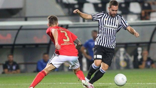 ΠΑΟΚ - Μπενφίκα: Η απίστευτη κούρσα Γιαννούλη και η γκολάρα του Ζίβκοβιτς για το 2-0
