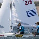 Πρώτα θέση για Μπόζη - Κλωναρίδου στο εθνικό πρωτάθλημα 470 της Ιταλίας
