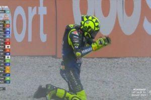 Moto GP: Η πτώση του Ρόσι που του στέρησε το 200ο πόντιουμ