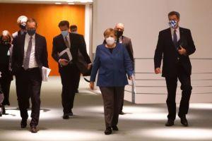 Κορωνοϊός : Σε μερικό lockdown από τις 2 Νοεμβρίου η Γερμανία