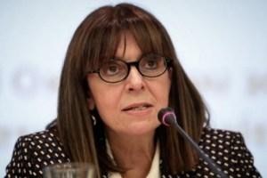 Σακελλαροπούλου: Η Ελλάδα δεν απεμπολεί τα κυριαρχικά της δικαιώματα