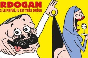 Το Charlie Hebdo «ξεγυμνώνει» τον Ερντογάν | Ειδήσεις - νέα - Το Βήμα Online