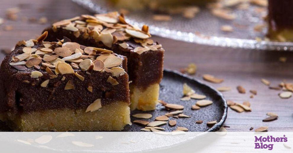 Χαλβάς με μανταρίνι και σοκολάτα από τον Άκη Πετρετζίκη