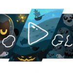 Google : Doodle για Halloween 2020 : Παιχνίδι με φαντάσματα