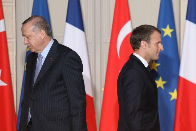 Γαλλία : Επεκτατική η συμπεριφορά της Τουρκίας στην Αν. Μεσόγειο