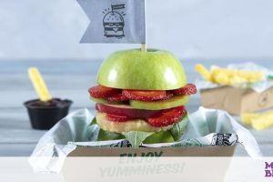 Φτιάξτε στα παιδιά αντί για φρουτοσαλάτα...  burger από φρούτα