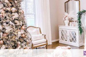 Pink pastel: η νέα τάση στη χριστουγεννιάτικη διακόσμηση