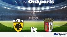 ΑΕΚ-Μπράγκα: Live Chat το παιχνίδι του Europa League από το ΟΑΚΑ
