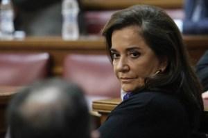 Η Ντ. Μπακογιάννη εξελέγη αντιπρόεδρος της Κοινοβουλευτικής Συνέλευσης του Συμβουλίου της Ευρώπης