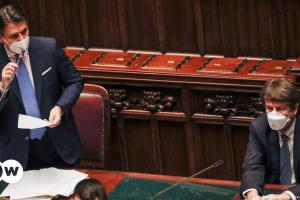 Ιταλία: Τζουζέπε Κόντε με κυβέρνηση μειοψηφίας;   DW   19.01.2021