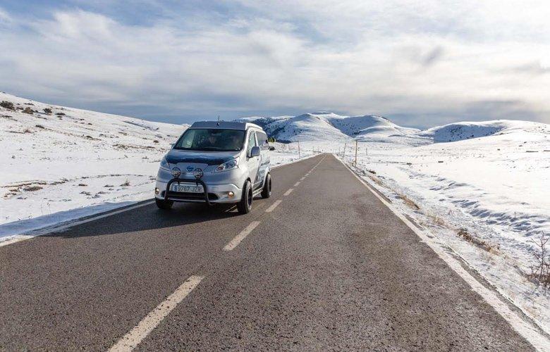 Nissan e-NV200 WinterCamper: Ειδικό για χειμερινές περιπέτειες