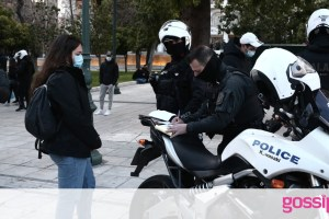 Κορονοϊός - Lockdown: Πρόστιμα ύψους 600.000 ευρώ σε ένα 24ωρο για την τήρηση των μέτρων