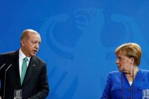 Μήνυμα Μέρκελ στον Ερντογάν για τη Μεσόγειο   Ειδήσεις - νέα - Το Βήμα Online