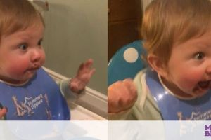 Μωράκι δοκιμάζει για πρώτη φορά σοκολάτα - Η αντίδρασή του μοναδική