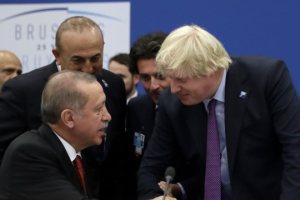 Ερντογάν: Θέλει σύμμαχο τον Τζόνσον για δύο κράτη στην Κύπρο