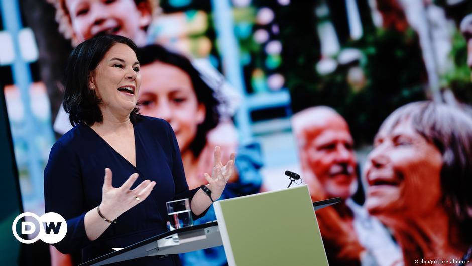Η υποψήφια καγκελάριος των Πράσινων. Θρίλερ σε CDU/CSU | DW | 19.04.2021