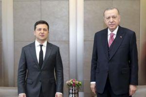 Συνομιλίες Ερντογάν με Ζελένσκι για την ουκρανική κρίση - Ειδήσεις - νέα - Το Βήμα Online