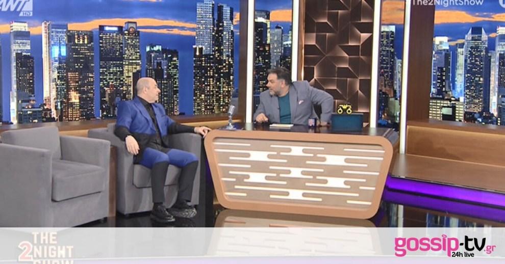The 2night Show: Σεφερλής: Πώς έχασε 10 κιλά, το όνειρο ζωής και η απώλεια που τον στιγμάτισε!