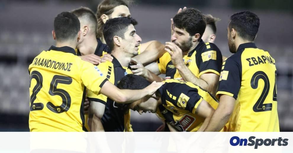 Απόδραση... Ευρώπης η ΑΕΚ  - Η βαθμολογία των play offs της Super League