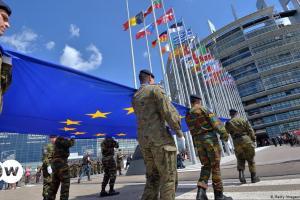 Η Τουρκία θέλει ρόλο στην ευρωπαϊκή άμυνα | DW | 16.05.2021