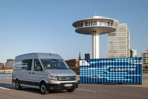 Το νέο Volkswagen e-Crafter στην Ελλάδα «φορτωμένο» με 136 ίππους