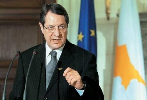 Αναστασιάδης: Προσήλωση στα ψηφίσματα των ΗΕ για λύση διζωνικής δικοινοτικής ομοσπονδίας στο Κυπριακό