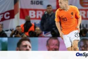 Ολλανδία: Εκτός Euro ο Φαν Ντε Μπέεκ