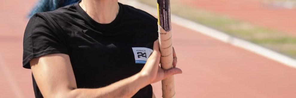 Η πρωταθλήτρια Ελλάδος Ελένη Πόλακ στην πρώτη της συμμετοχή σε Ολυμπιακούς Αγώνες
