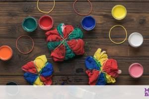 Πώς θα φτιάξετε απίθανες tie-dye μαξιλαροθήκες και σεντόνια για τα παιδιά
