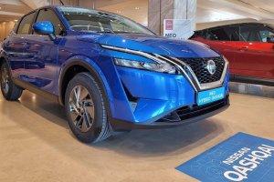 Στις εκθέσεις η 3η γενιά του Nissan Qashqai