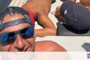 Γιώργος Λιάγκας - Οι τελευταίες βουτιές στο Ιόνιο για φέτος με τους γιους του