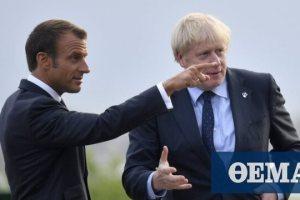 Επικοινώνησαν Μακρόν - Τζόνσον: «Αποκατάσταση σχέσεων» ψάχνει το Λονδίνο μετά την «AUKUS»