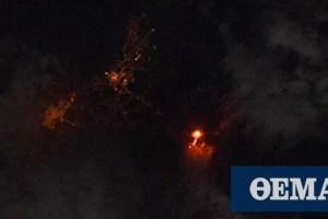 Ισπανία: Η έκρηξη του ηφαιστείου στη Λα Πάλμα όπως φαίνεται από τον Διεθνή Διαστημικό Σταθμό